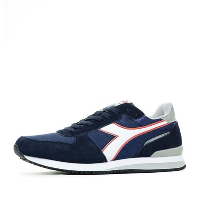 Diadora BASKETS BASSES BLEU Chaussure France_v6227