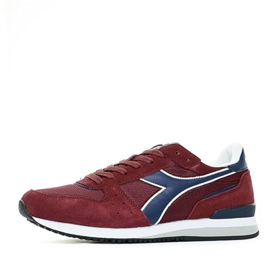 Diadora BASKETS BASSES ROUGE Chaussure France_v6239