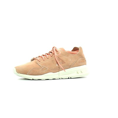 Le Coq Sportif FLOW NUBUCK BASKETS BASSES ROSE Chaussure France_v9581