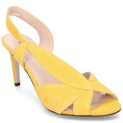 Gino Rossi SANDALES JAUNE Chaussure France_v12884