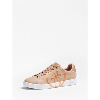 Guess CAMBRY BASKETS BASSES BEIGE Chaussure France_v12086