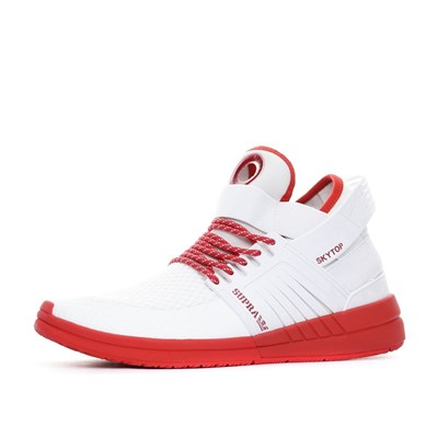Supra BASKETS BASSES ROUGE Chaussure France_v7142