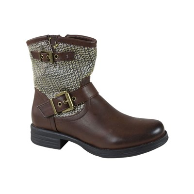 Kebello BOTTINES MARRON Chaussure France_v4013