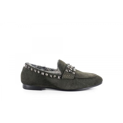 Lola Cruz MOCASSINS NOIR Chaussure France_v14466