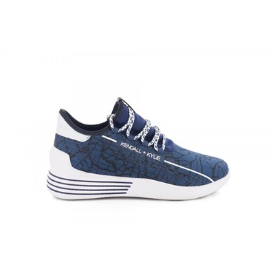 Kendall & Kylie BASKETS BASSES BLEU Chaussure France_v14450