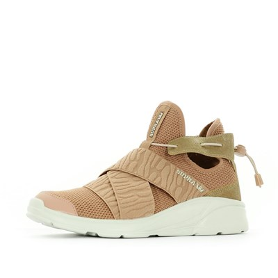 Supra BASKETS BASSES ROSE