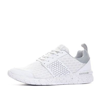 Chaussures Femme | Supra BASKETS BASSES BLANC