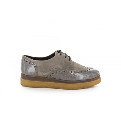 Manas DERBIES GRIS Chaussure France_v9934