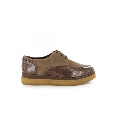 Manas DERBIES CAMEL Chaussure France_v9933