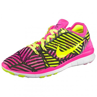 Chaussures Femme | Nike FREE 5.0 TR FIT 5 PRT BASKETS BASSES ROSE