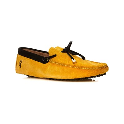 Chaussures Homme | Vicomte A MOCASSINS MOUTARDE