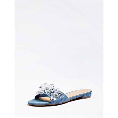 Guess RIPELY SANDALES BLEU Chaussure France_v12292