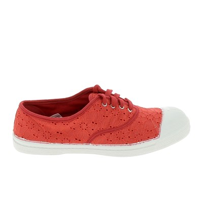 Bensimon BASKETS BASSES ROUGE