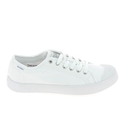 Palladium BASKETS BASSES BLANC Chaussure France_v8760