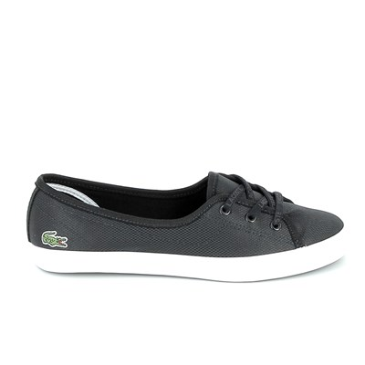 Lacoste ZIANE CHUNKY 119 BASKETS BASSES NOIR Chaussure France_v8624