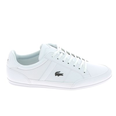 Lacoste CHAYMON BL BASKETS BASSES BLANC Chaussure France_v14976
