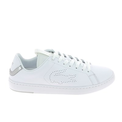 Lacoste CARNABY EVO BASKETS BASSES BLANC Chaussure France_v11252