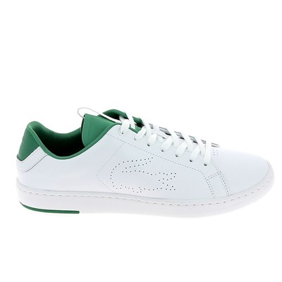 Lacoste CARNABY EVO BASKETS BASSES BLANC Chaussure France_v11253