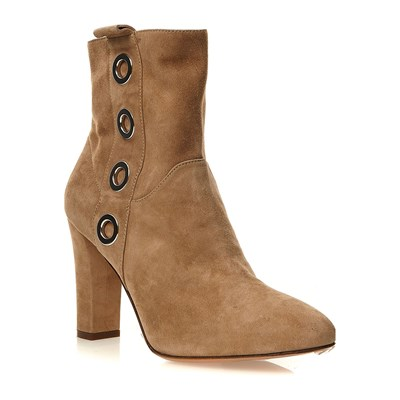 Twinset BOTTINES EN CUIR BEIGE Chaussure France_v12115