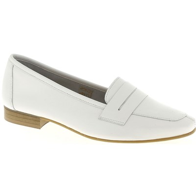We Do MOCASSINS BLANC Chaussure France_v8177