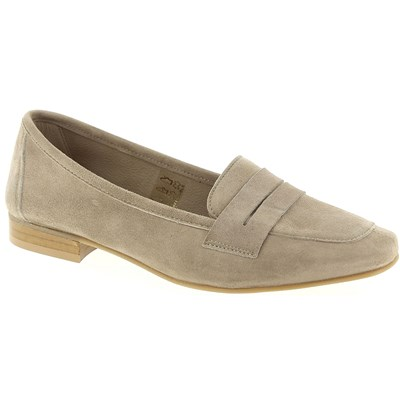 We Do MOCASSINS TAUPE Chaussure France_v7508