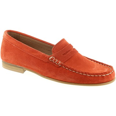 We Do MOCASSINS ORANGE Chaussure France_v8189