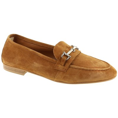 Rose Metal MOCASSINS CAMEL