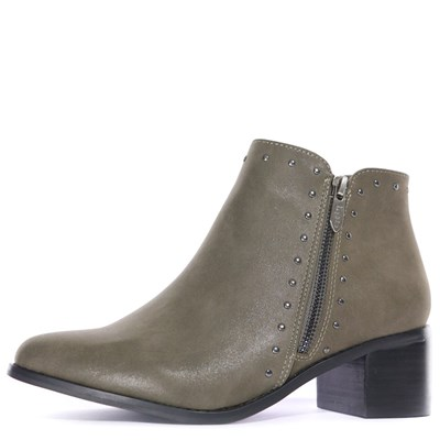 Les petites bombes BOOTS VERT Chaussure France_v4823