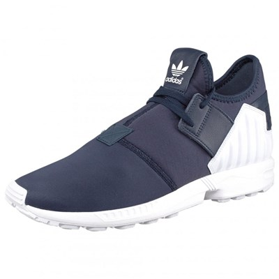 adidas Originals ZX FLUX PLUS BASKETS BASSES BLEU Chaussure France_v6403