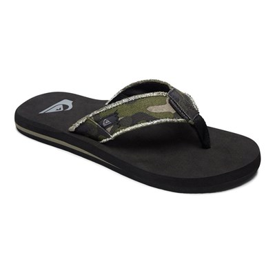 Quiksilver MONKEY ABYSS TONGS NOIR Chaussure France_v1828
