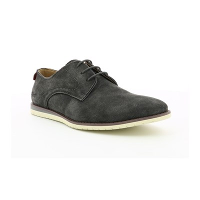 Kickers TUMP DERBIES EN CUIR GRIS Chaussure France_v6080