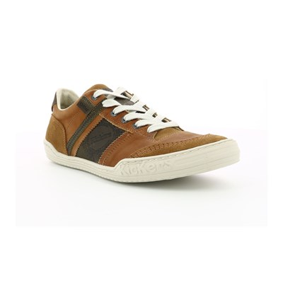 Kickers JINGLE LOW SNEAKERS KAMELFARBEN