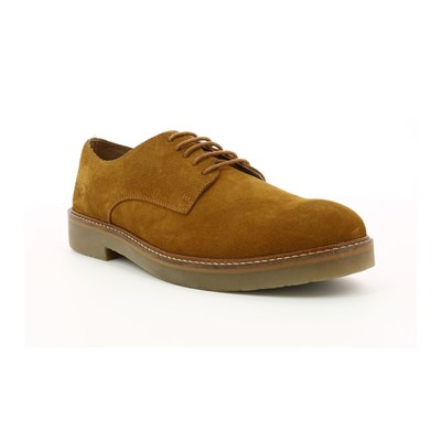 Kickers OXFORDHOM DERBIES EN CUIR DE VACHETTE CAMEL Chaussure France_v9351