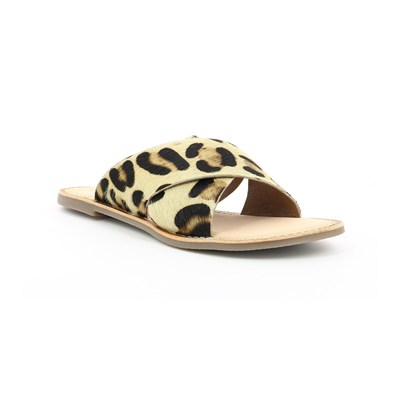 Eye Catching Kickers DIVA ZOCCOLI BEIGE