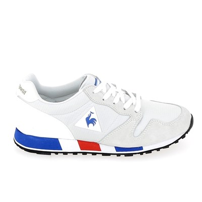 Le Coq Sportif OMEGA BASKETS BASSES BLANC Chaussure France_v13354