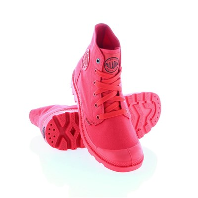 Palladium BASKETS MONTANTES ROUGE