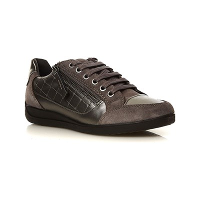 Geox MYRIA LOW SNEAKERS GRAU