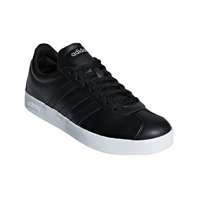 adidas VL COURT 2.0 LOW SNEAKERS SCHWARZ