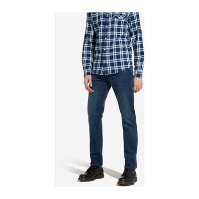 Wrangler ARIZONA JEANS SLIM DRITTO BLU