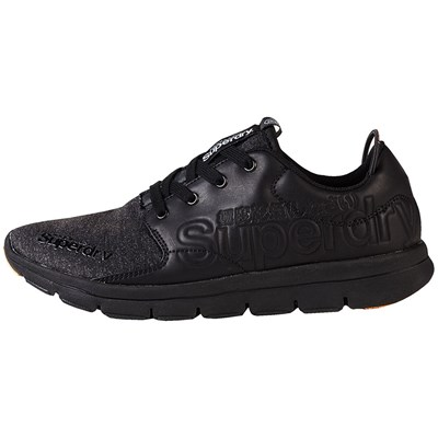 Superdry BASKETS BASSES NOIR Chaussure France_v5204