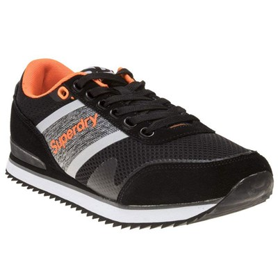 Superdry BASKETS BASSES NOIR