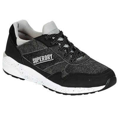 Superdry BASKETS BASSES NOIR Chaussure France_v8052