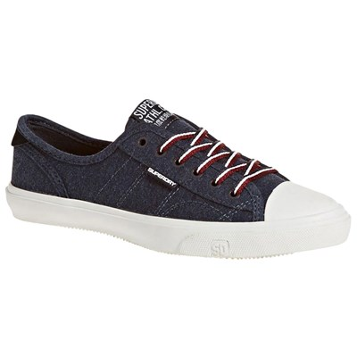 Superdry BASKETS BASSES BLEU