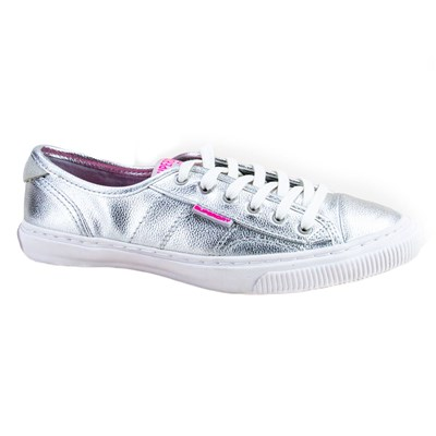 Superdry BASKETS BASSES GRIS