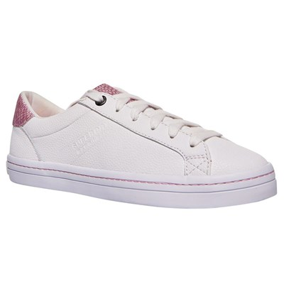 Superdry BASKETS BASSES BLANC