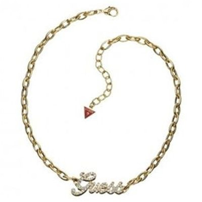 Guess :  Collier m�tal dor�