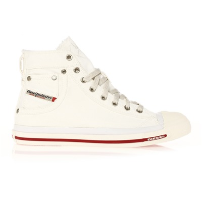 Diesel EXPOSURE HIGH SNEAKERS WEIß