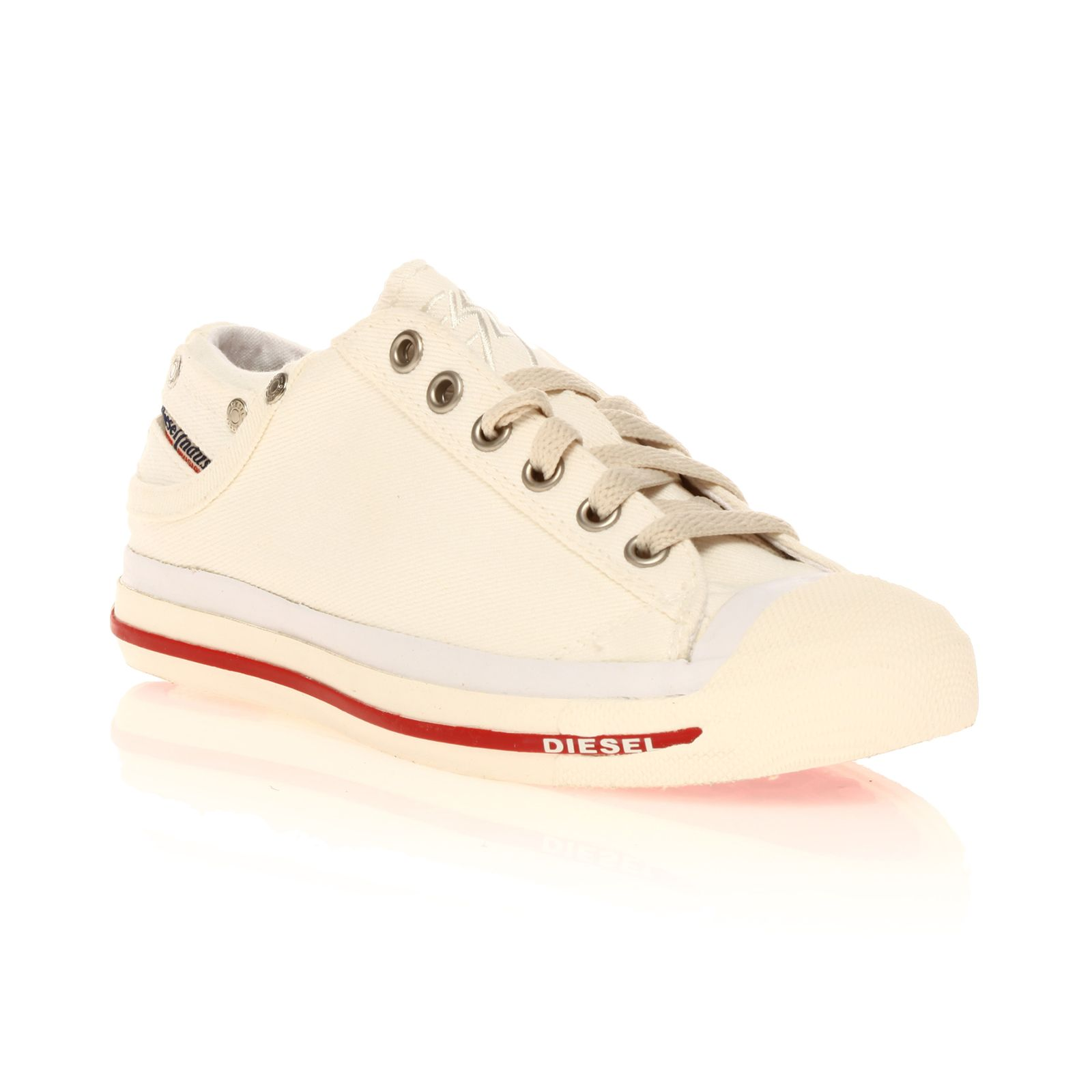 Diesel Magnete Exposure Low - Sneakers - blanches