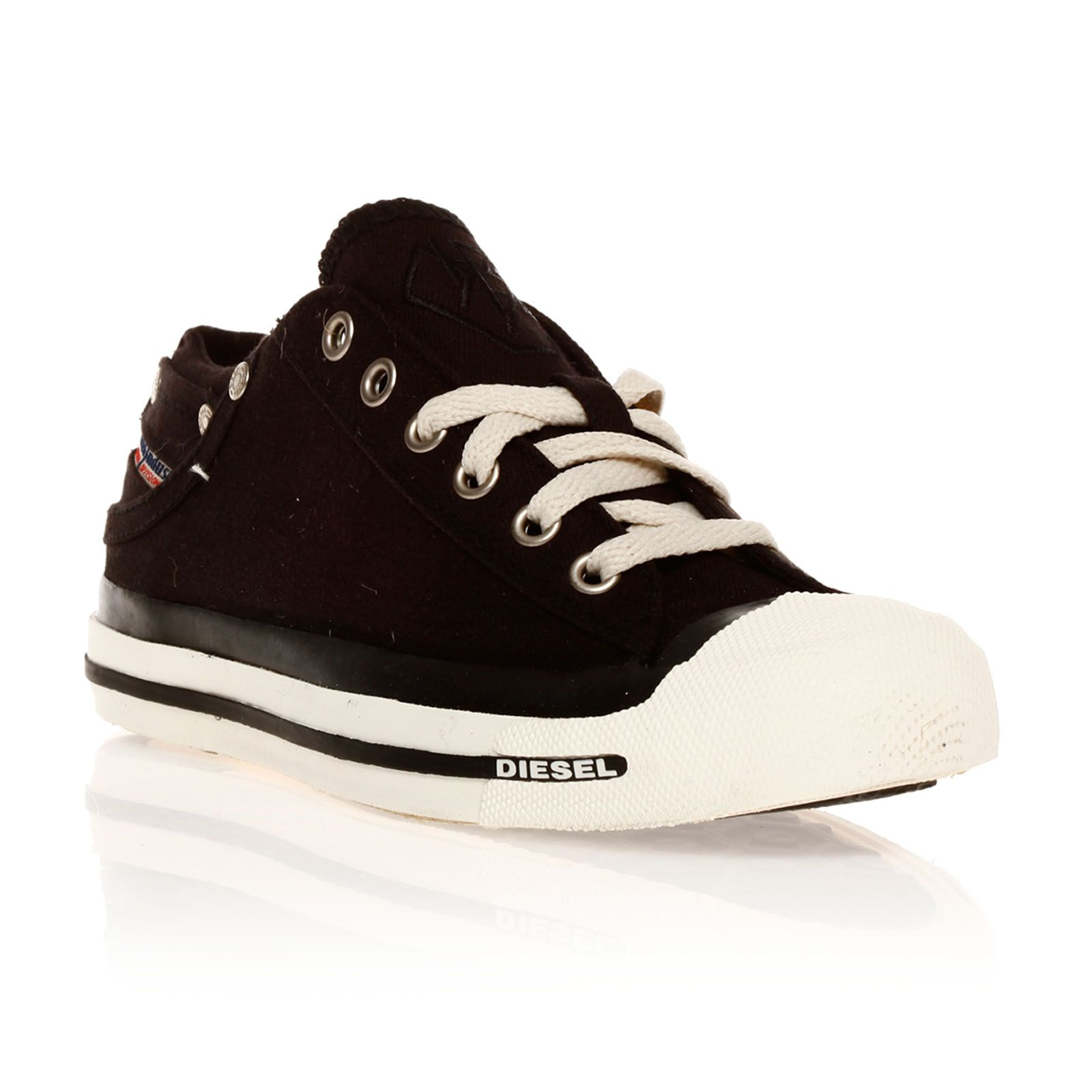 Diesel Magnete Exposure Low - Sneakers - noires