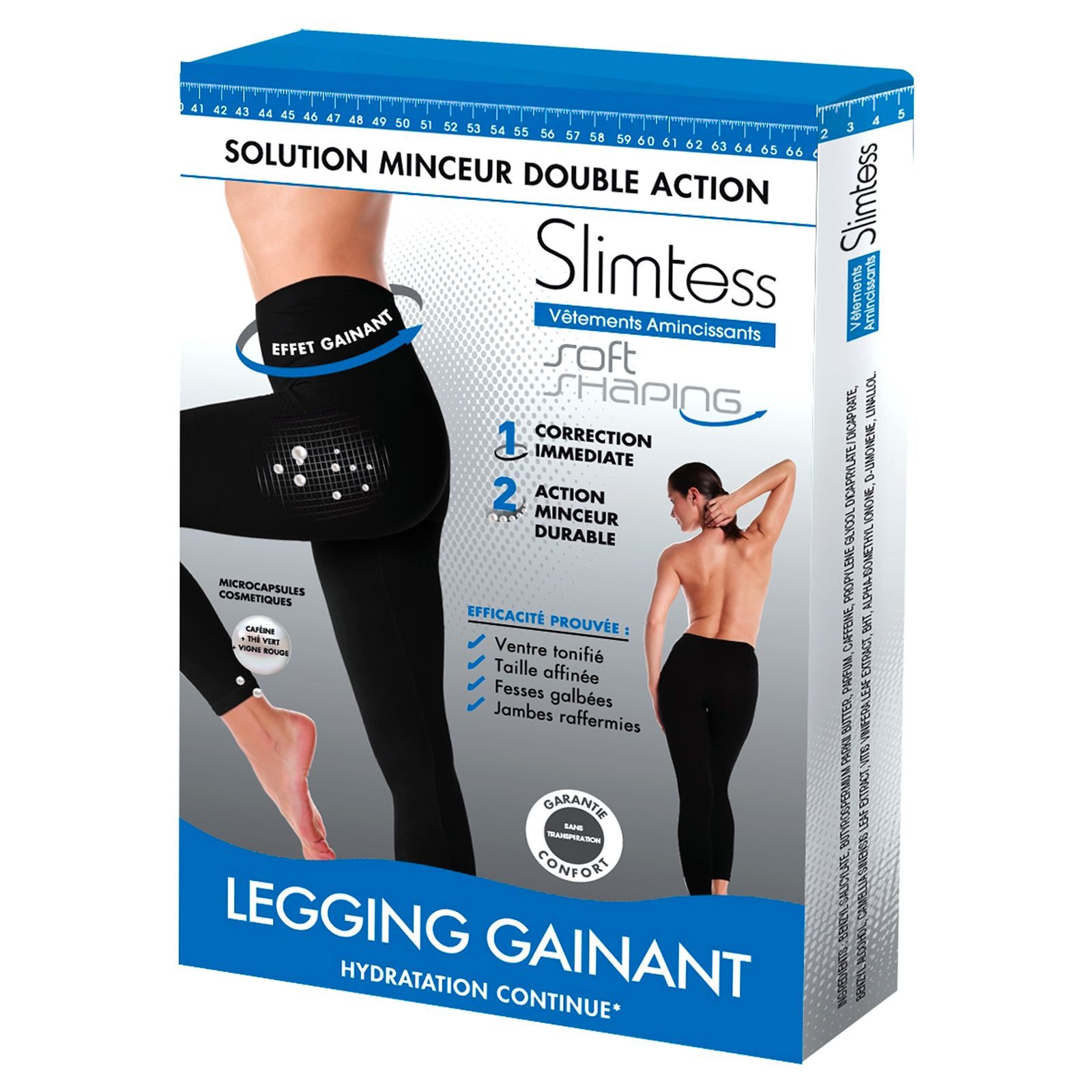 Slimtess Soft Shaping - Legging gainant - noir   BrandAlley 2a3b05476dfd